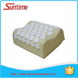 Oreiller de massage d'Acupressure, oreiller d'ongles pour le traitement de douleur dorsale de cou