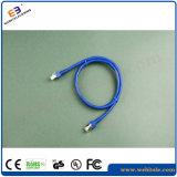 Cuerda de corrección de CAT6A 4*2*7/0.2cu UTP/cable de la corrección