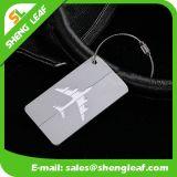 Ventes en gros respectueuses de l'environnement d'étiquette de bagage en métal de valise de roulement de vente chaude