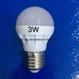 Eco 소성 물질을%s 가진 3W LED 전구