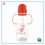 Sin BPA 9oz plaza Francesa de plástico biberones para bebés