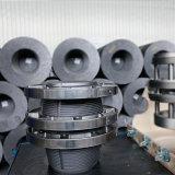 Графитовые электроды углерода HP UHP Np RP ранга наивысшей мощности используемые для дуговой электропечи