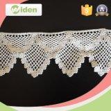 Cordón moldeado del producto químico del bordado de la tela nupcial del cordón de los accesorios de la ropa