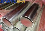 Tubo de tubo de acero inoxidable brillante pulido 201 304 grado