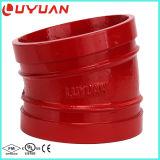 La fonte ductile coude cannelé avec 90/45/coude 22.5/11,25 degré