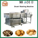 ポテト皮の洗濯機の洗濯機およびブラシの洗濯機