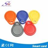 Matériau ABS 13.56MHz ISO 14443de la télécommande d'une carte à puce RFID Procotol