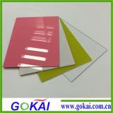 Placa de PMMA/folha do plexiglás