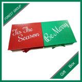 Boîte-cadeau de papier colorée de qualité pour la vente en gros