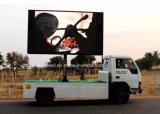 Fonction d'affichage de la route de machines virtuelles portables avec écran LED vidéo remorque
