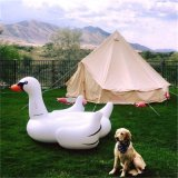 5mの贅沢グループの防水キャンプのキャンバスの鐘テント