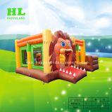Hellokittyの子供のための膨脹可能なコンボの弾力があるスライドの城