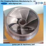 ステンレス鋼投資鋳造による浸水許容ポンプインペラー