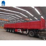 Titaan 4 de Semi Aanhangwagen van de Zijgevel van Assen voor Verkoop