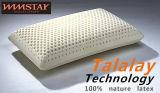 Talalay Technics proceso 100% de la naturaleza de espuma de látex estándar Almohadas Almohada