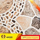 40X40cm rustikale glasig-glänzende keramische Wand-Fußboden-Fliese-Stein-Fliese (4A320)