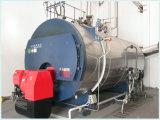 El gas de combustible, petróleo empaquetó la caldera de vapor con la hornilla europea
