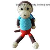 아기 선물을%s 최신 판매 손 크로셰 뜨개질 원숭이 장난감 인형
