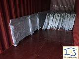 Высокое качество индивидуального оцинкованной горячим ограды из кованого железа Baclony поручни