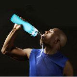 do pulverizador plástico do esporte de 400ml 600ml garrafa de água de pulverização portátil
