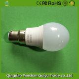 Lâmpada LED de 5 W com alumínio e Corpo Plástico Base B22
