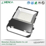 El aluminio IP65 impermeabiliza la mini luz de inundación de SMD 100W LED