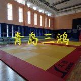 Stuoia spessa di judo di esercitazione con le maniglie di trasporto