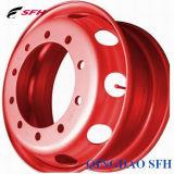cerchione senza camera d'aria della rotella 22.5inch//rotella della lega