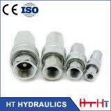 Acoplamento rápido hidráulico apropriado de bronze do ISO 7241-1A