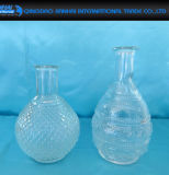 Fles van het Glas van diverse Grootte de Kosmetische voor Lotion en Room