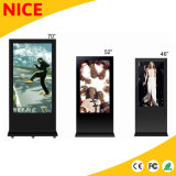 55 polegadas LCD de Chão Vertical Quiosque Digital Signage