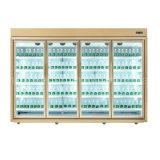 Пульт ДУ ТИП КОМПРЕССОРА Multideck стеклянные двери холодильник для продажи