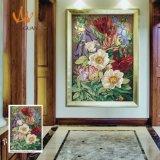 Fleur peinture Art Mosaic Décoration (MD1066)