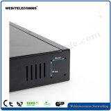 8 portas de switch KVM HDMI de cor preta