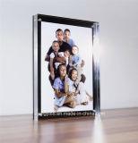 Bloc en verre acrylique estampé par coutume personnalisé de photo
