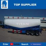 Titan vehículo 3 tanque de cemento a granel del eje semi remolque con 40 toneladas para la venta