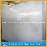 Telhas de assoalho de mármore brancas naturais Polished da cozinha e do banheiro de Guangxi