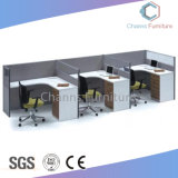 صليب مكتب مركز عمل [ل] شكل مكتب طاولة مع حافز خشبيّة ([كس-و31430])