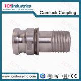 Tipo connettori compositi dell'acciaio inossidabile del tubo flessibile di E