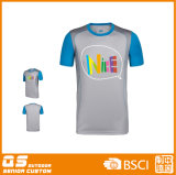 T-shirt de panneau d'impression de la mode des hommes