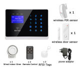 Safety Alarm를 위한 무선 Intruder Home Security Burglar GSM Alarm