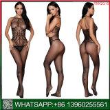 Novo preço barato Moda Fishnet preta de lingerie sexy