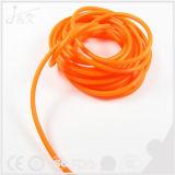 Sacado suavemente/cuerda del caucho natural el elástico 6m m