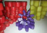 Провод фиолетового цвета деталей, полиуретановых деталей, PU соединение, резиновую муфту