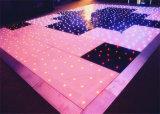 Assoalho com diodo emissor de luz do RGB, assoalho da estrela de dança da estrela do diodo emissor de luz