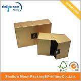 Cosméticos dourados luxuosos personalizados do fechamento do ímã que empacotam a caixa (QYCI1504)