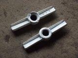 旋回装置の構築のための調節可能なネジ込み口金ジャック