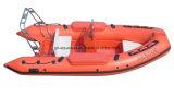 Aqualand 4,7 m bateau gonflable rigide 16pieds / Rib bateau/bateau de sauvetage (rib470b)