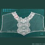 Het katoen haakt de TextielKleren van de Stof van de Kraag van het Kant van het Borduurwerk van de Halsband