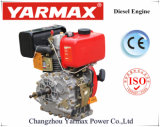 Comienzo eléctrico refrescado aire del cilindro Ym178f 5HP de Yarmax solo/comienzo del retroceso con el motor diesel de la ISO del Ce